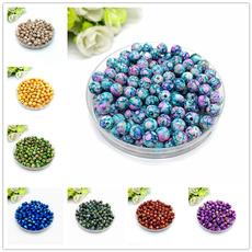 beadsforjewelrymaking, 8MM, acrylicbead, Jewelry
