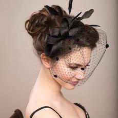 Fashion, flowerveilhat, Wedding Accessories, featherhat