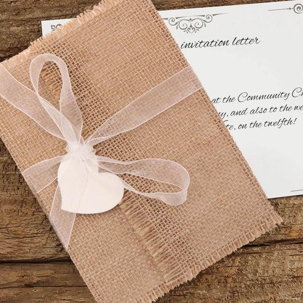 weddinginvitationscard, invitationenvelope, Fashion, burlap