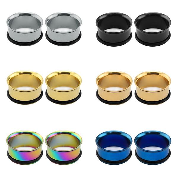 Steel, earplugstunnel, Stainless Steel, plugsandtunnel