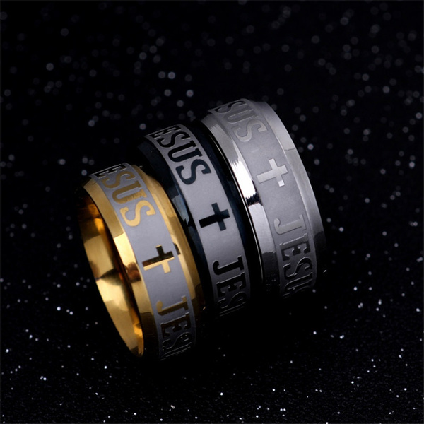 goldplated, Couple Rings, bible, Jewelry