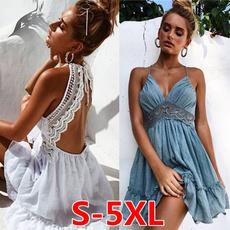Mini, Summer, Fashion, Lace