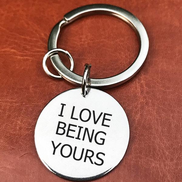Boyfriend Gift Husband Wedding Gift Boyfriend Keychain Girlfriend Anniversary Gifts Gift Ideas Gift For Him Romantic Gift For Men Wish