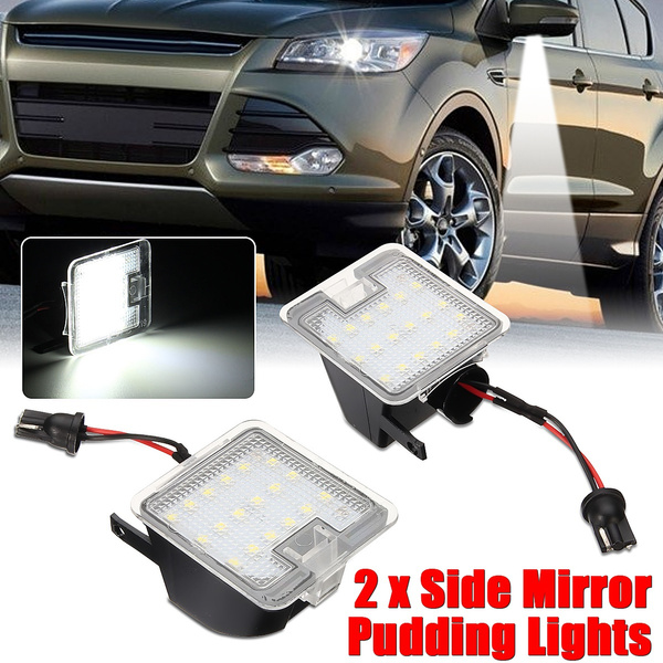 mirrorpuddlelight, rearviewmirrorlight, led, lights