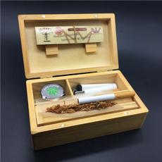 Box, tobacco, cigarettecase, rollingtray