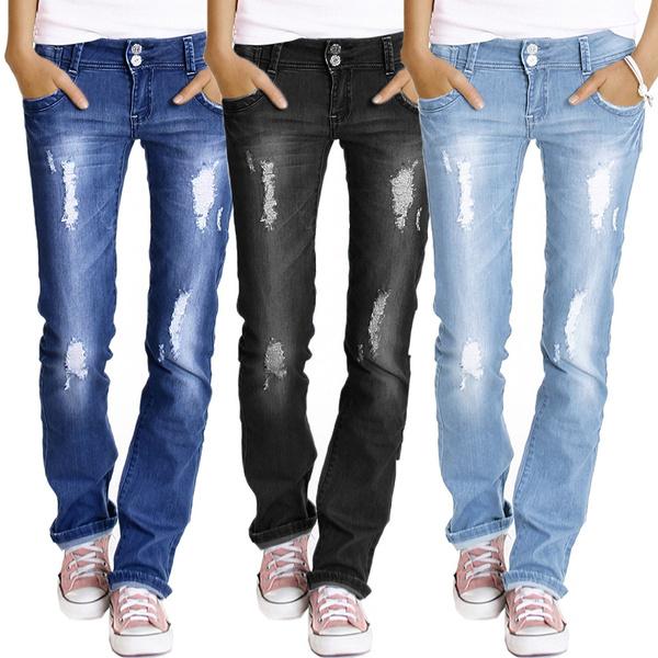 longtrouser, Plus Size, Spring/Autumn, Casual pants