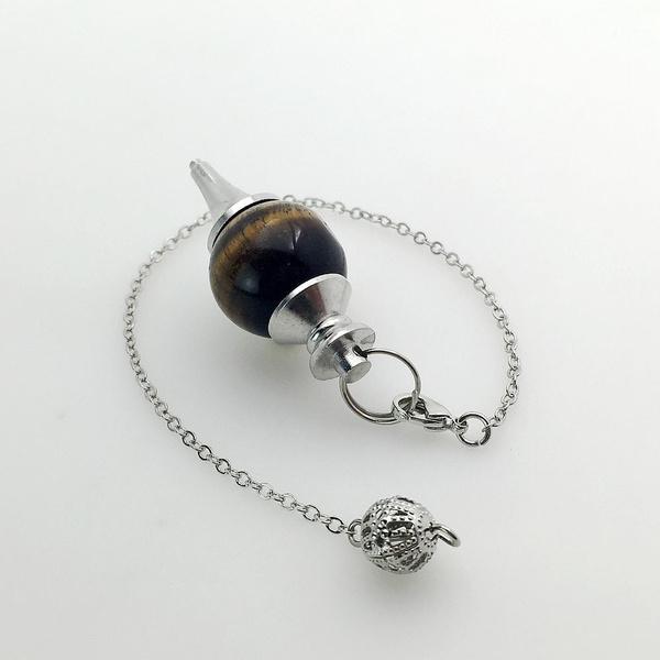 quartz, pendulum, Chain, Crystal