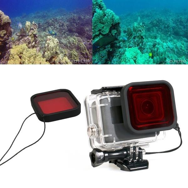 Underwater Diving Housing Case Lens Filter For Gopro Hero 7 5 6 4 3 Hero 2018 Version Black Camera Best Design Wish