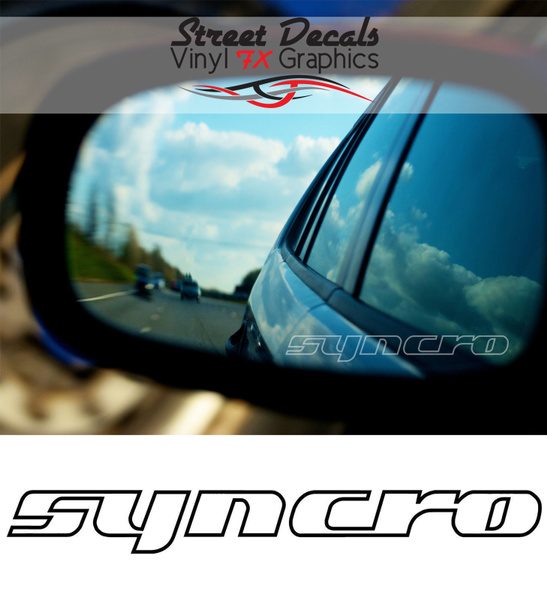 Cars, Mirrors, syncro, Decals / Stickers