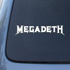Decal, 1432, vinyl, megadeth