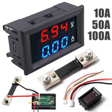 ampvoltgauge, leddigitaldisplay, digitalvoltmeterammeter, voltmeterammeter