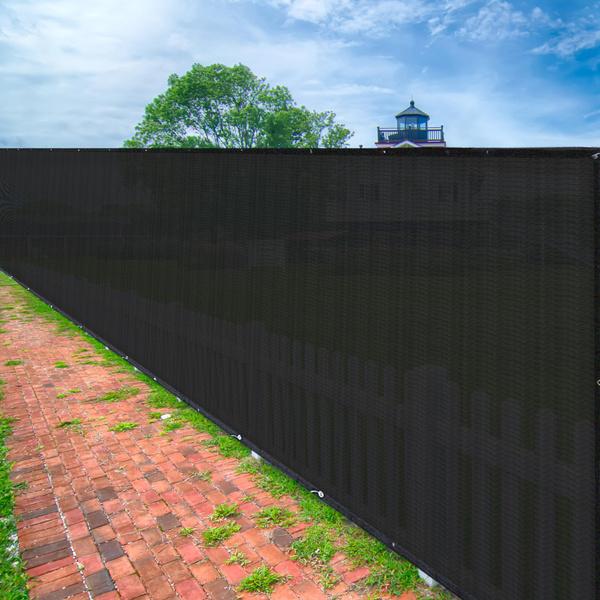 Outdoor, Home Decor, fencemeshscreen, fencescreenblack