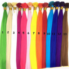 Cosplay, Colorful, Straight Hair, fiberfeather