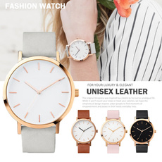 quartz, Fashion, Ladies Watches, leather