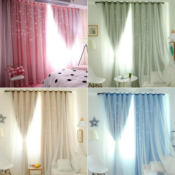 Star, homewindowcurtain, blackoutcurtain, starshadingcurtain