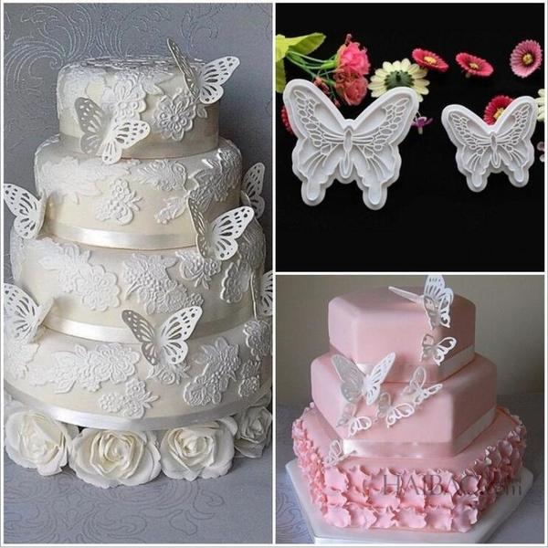 butterfly, Fashion, cake mold, Fondant