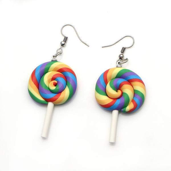 rainbow, Cosplay, Dangle Earring, Jewelry