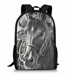 travel backpack, Shoulder Bags, horse, animeknapsack