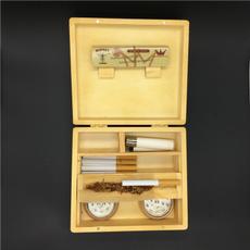 Box, tobacco, Wooden, tray