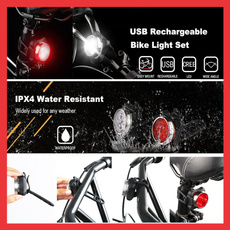 Bicycle, Rechargeable, bicyclelight, outdoorlightlamp