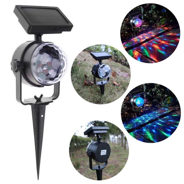 solarprojectorlight, gardendecorationlamp, led, projector