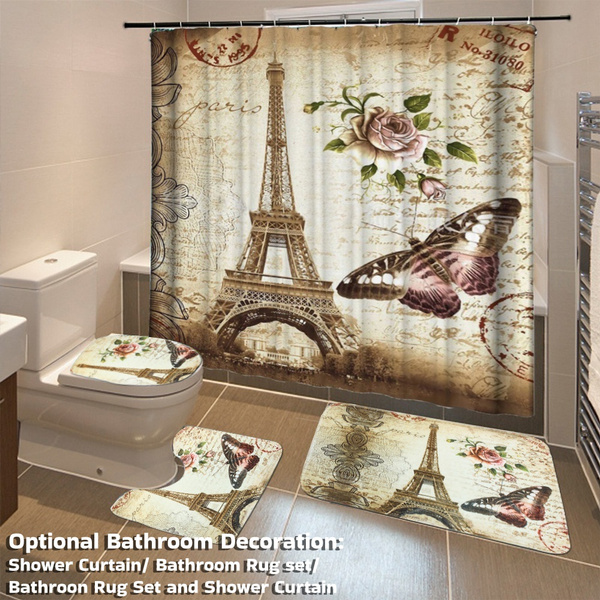 Beautiful, Bathroom, Home Decor, parisbathroomset