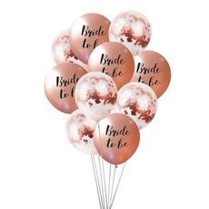 weddingparty, decoration, Bride, Balloon
