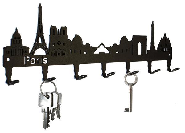 keyholder, frankreich, keyringskeychain, Metal