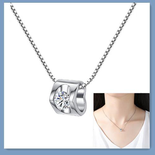 Sterling, planetpendant, Sterling Silver Jewelry, DIAMOND