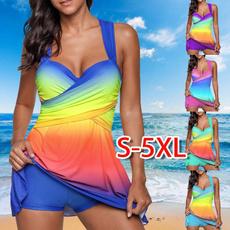 bathing suit, Plus Size, colorfulswimsuit, Sexy Swimwear