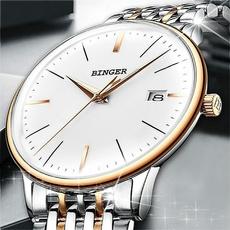 Box, Casual Watches, Waterproof, wristwatch
