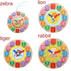 Toy, Clock, Children's Toys, Puzzle