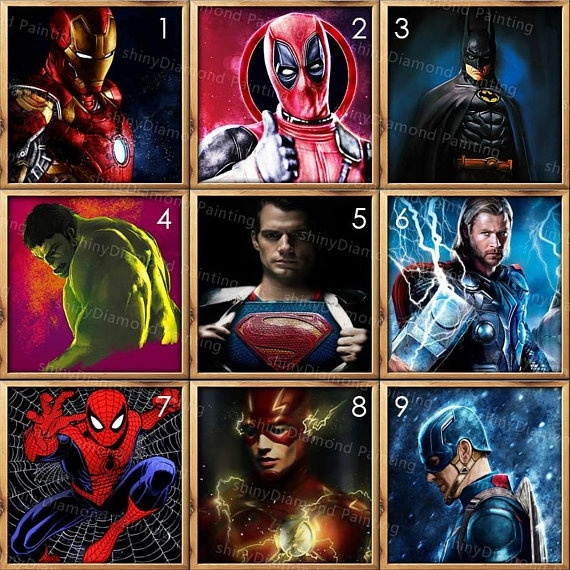Pictures, DIAMOND, Wall Art, Batman