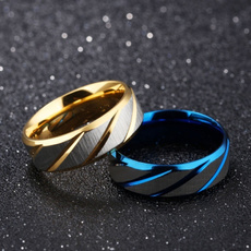 Couple Rings, Steel, Moda, wedding ring