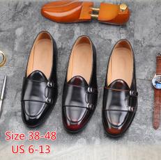 Flats & Oxfords, nightclubshoe, Slip-On, leather shoes