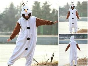 snowman, Cosplay, olaf, Dress