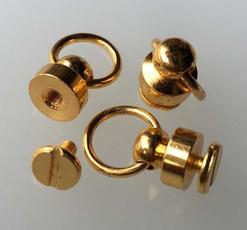 Brass, pacifiernail, Stud, Beauty