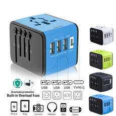 Plug, usbplug, 3usb, traveladapter