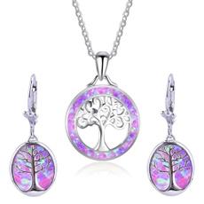 Beautiful, opalearring, dangleearing, Tree