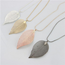 Woman, leaf, Jewelry, Gifts