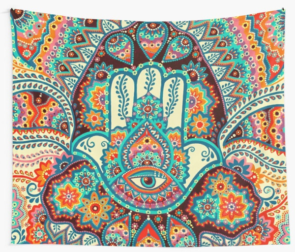 indianbohemian, mandalatapestry, Sports & Outdoors, hangingcloth