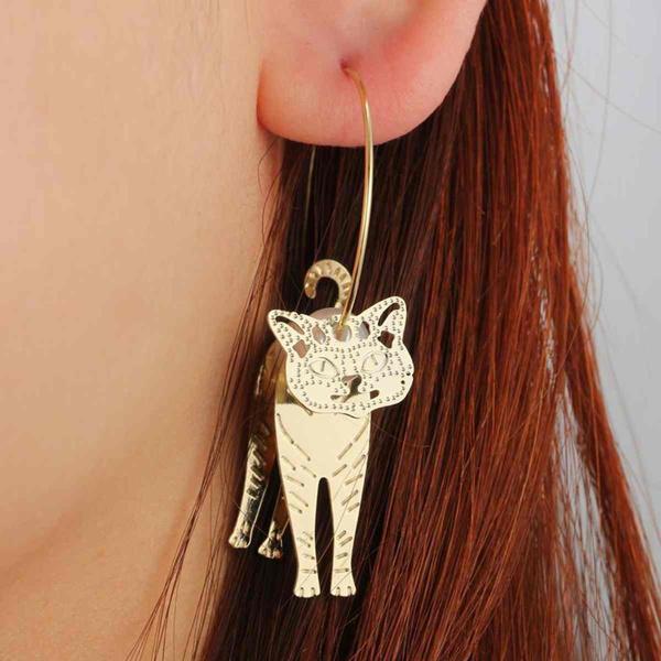 catpearlearring, Dangle Earring, Jewelry, Gifts