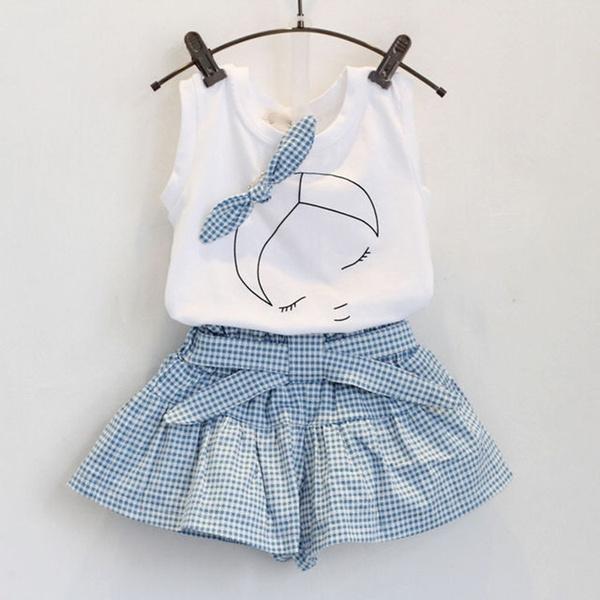 Vest, babyset, childrensclothe, girls clothing set