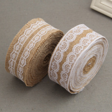 burlapamplaceribbon, weddingribbon, Vintage, Sewing
