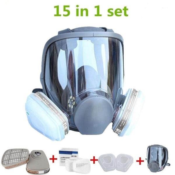 respiratormask, facialmaskset, sprayinghead, paintingmask