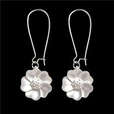 Flowers, Jewelry, Stud Earring, jasmine