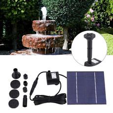 Tank, Garden, fish, solarpane