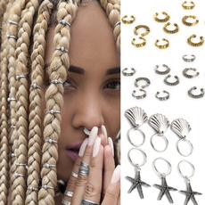 Braids, hairstyle, fashionhairpin, Jewelry