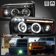 Dodge, black, projector, Auto Accessories