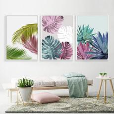 Plants, Wall Art, Home Decor, muralpainting